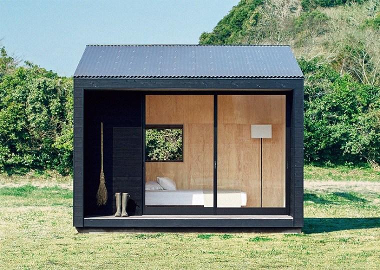 fachadas de casas pequeñas minimalistas