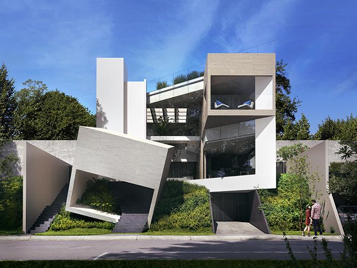 fachadas minimalistas 2020