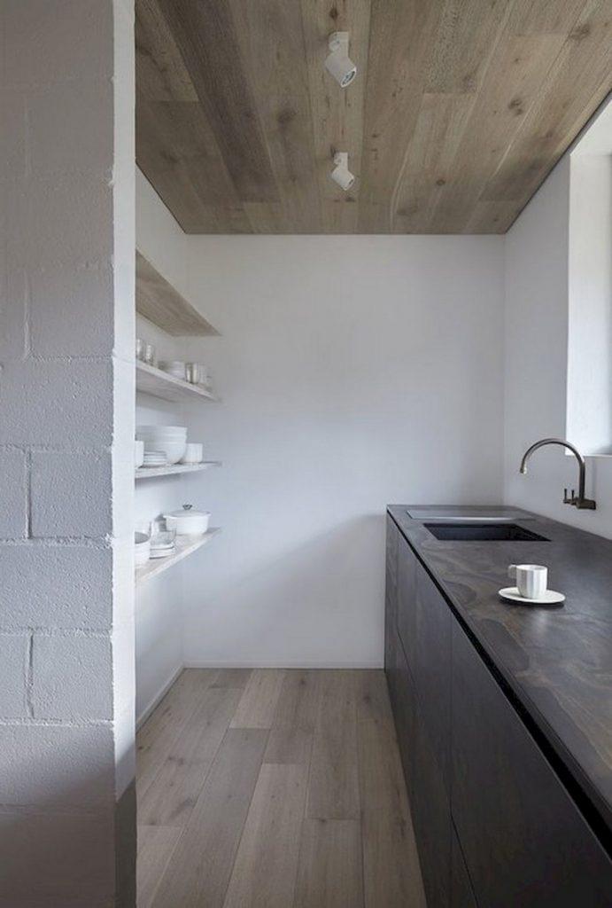 cocina simple y minimalista