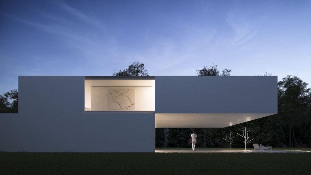 fachadas de casas minimalistas 2020