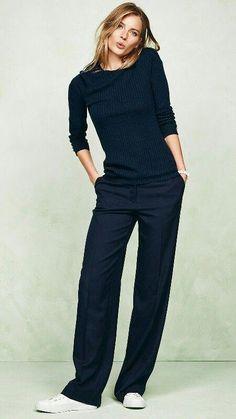 conjunto pantalon mujer minimalista